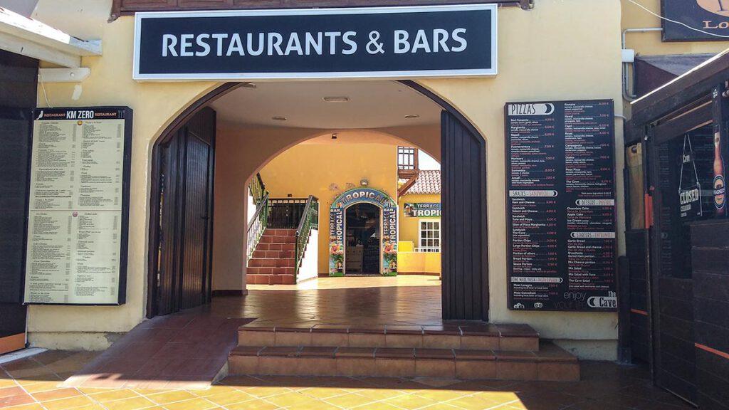 Restaurant15 entrance