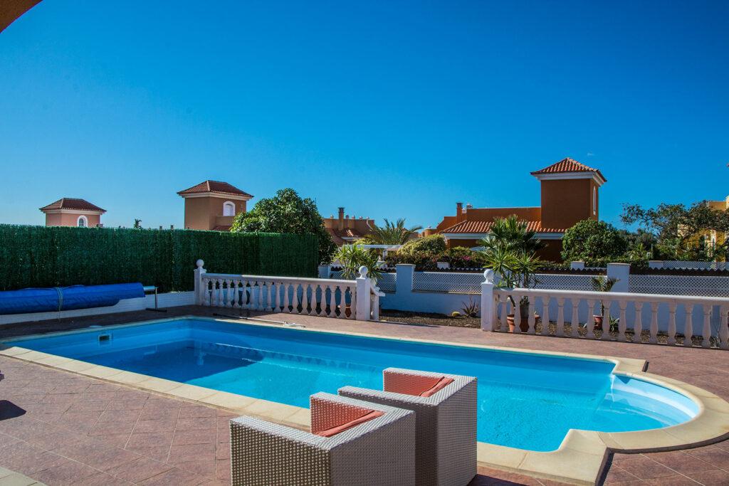 Sunny Day in Caleta