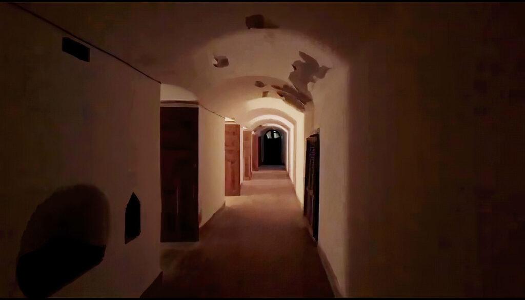 The bunkers at Villa Winter, Fuerteventura